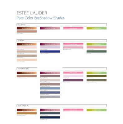Estee Lauder Pure Colour Eye Shadows Review A Beauty