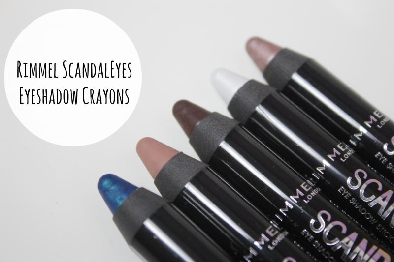Rimmel Scandaleyes Eyeshadow Crayons A Beauty Junkie In