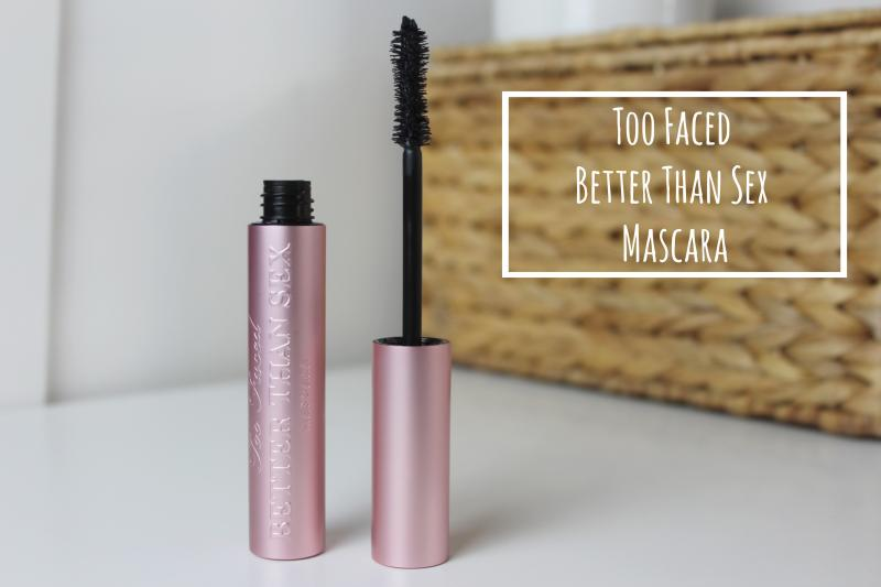 too faced better than sex mascara in Texas