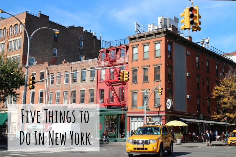 Five things to do in new york a beauty junkie in london for Thing to do new york