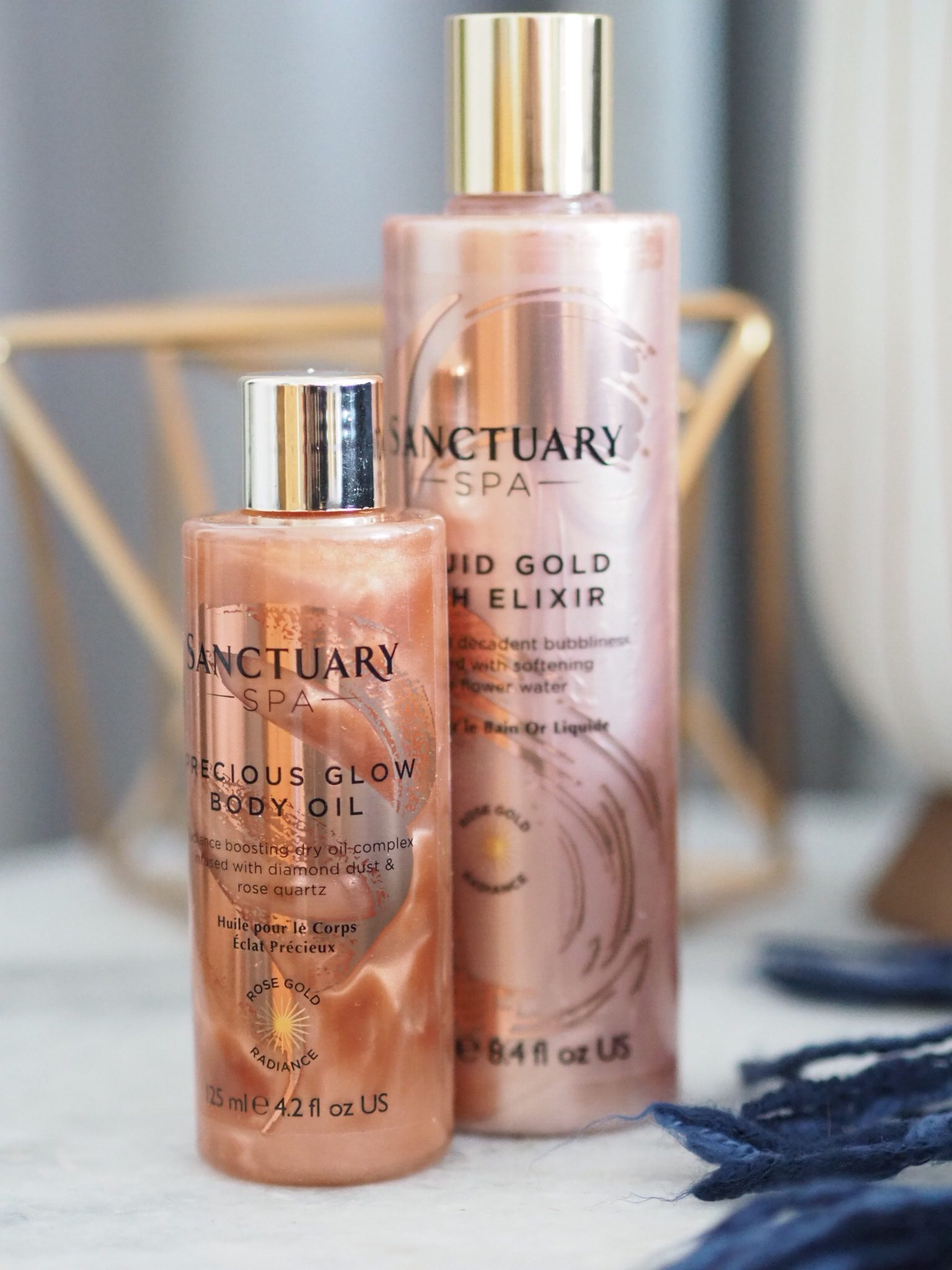 Sanctuary Spa Rose Gold