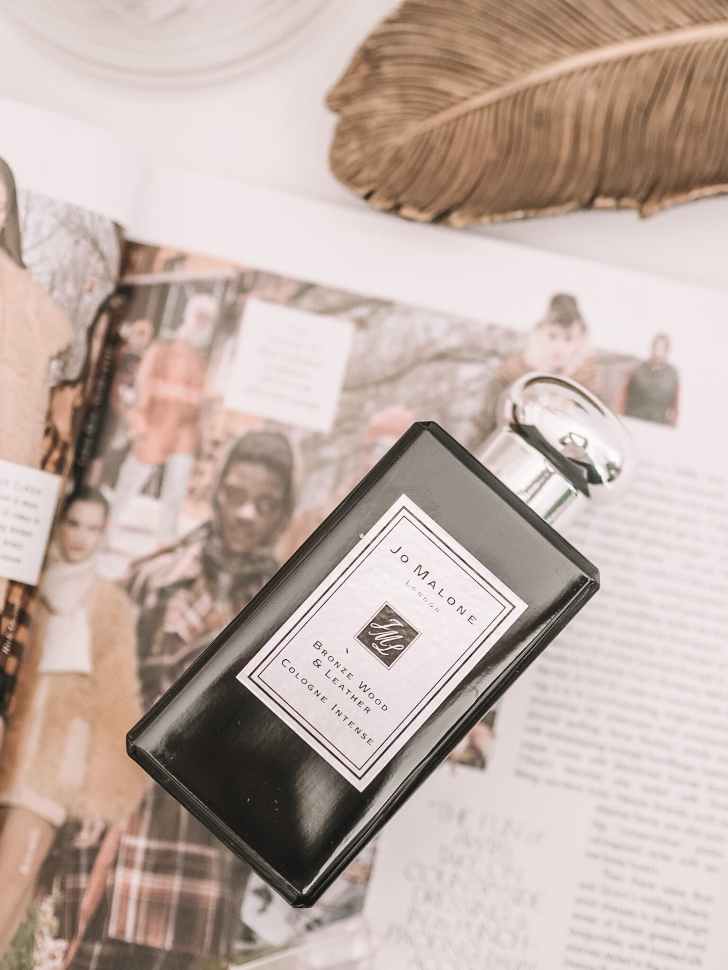 Jo Malone Bronze Wood & Leather Cologne Intense