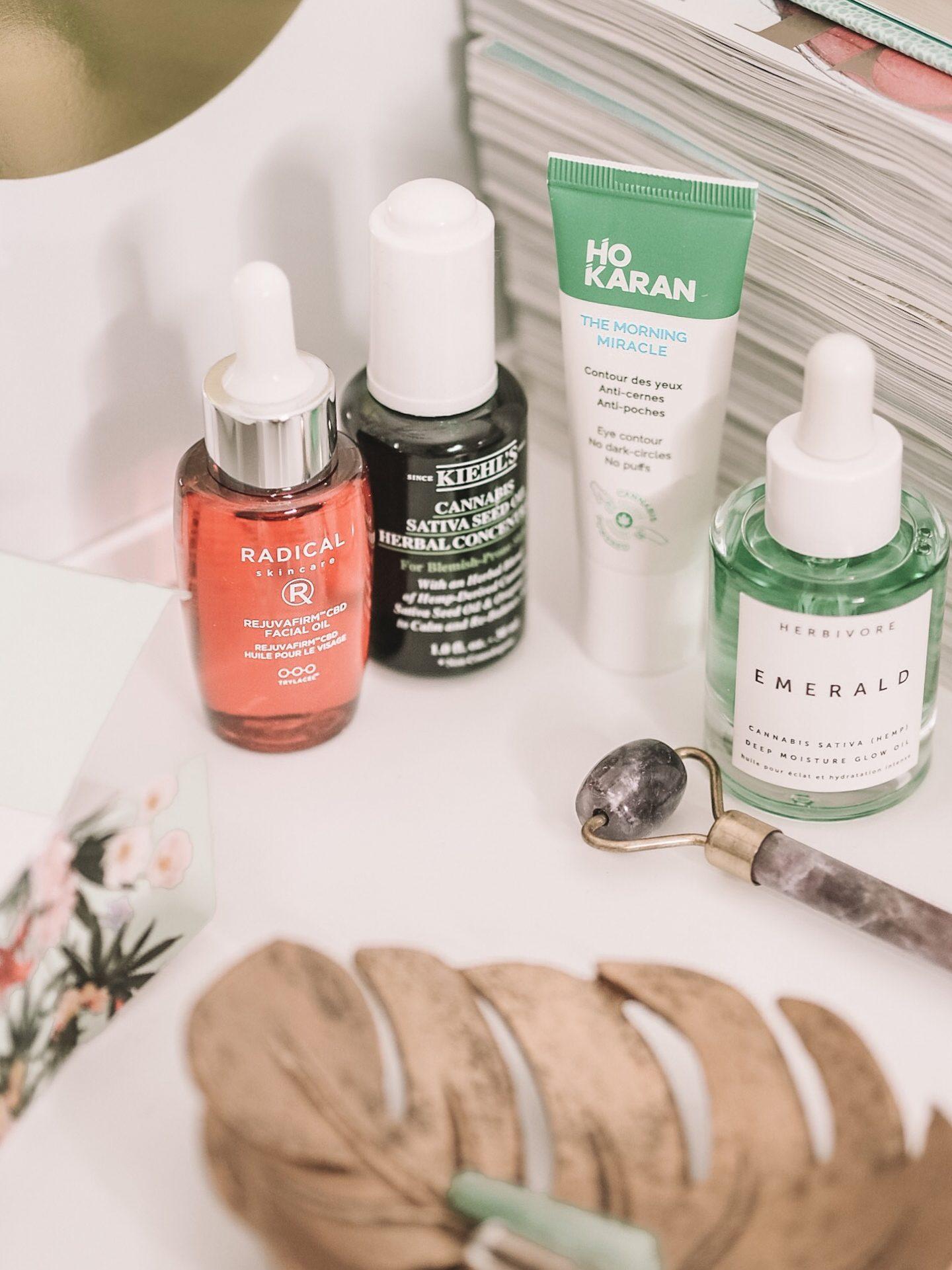 Cannabis in skincare