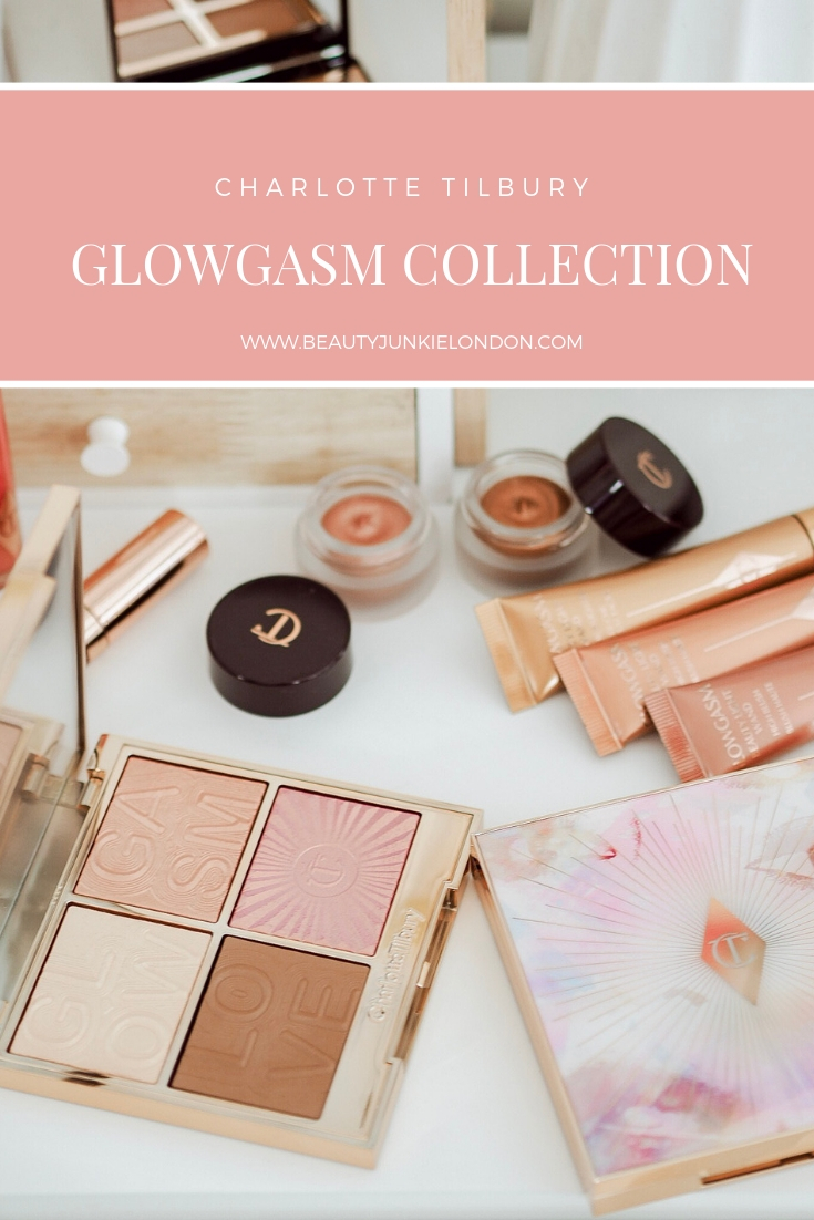 Charlotte Tilbury Glowgasm Collection pin