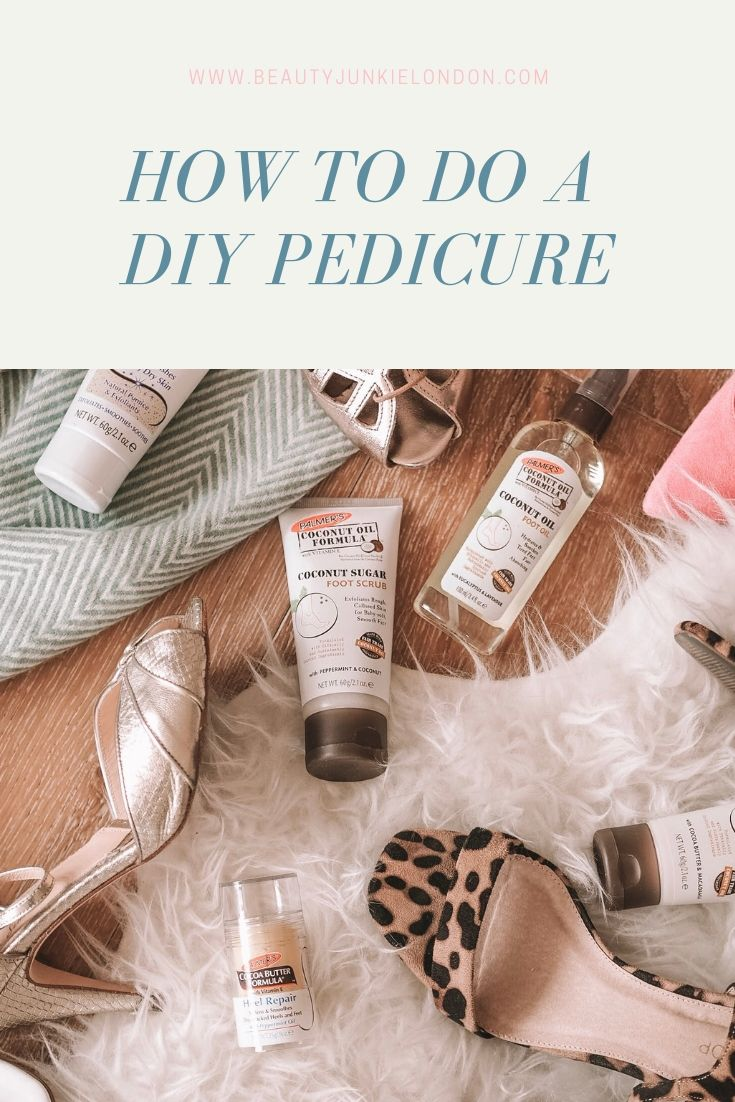 How to do a DIY pedicure pin